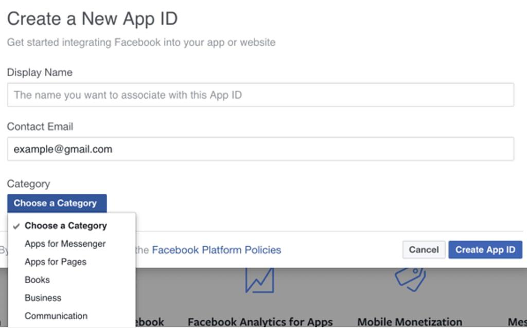 login-facebook-impostazione