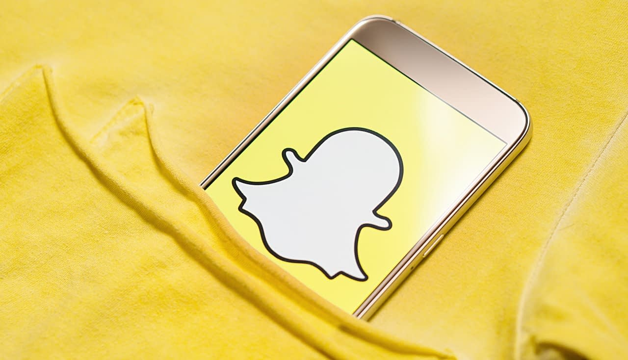 Il restyling di Snapchat