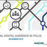Internet in Italia: i dati Audiweb di novembre 2019