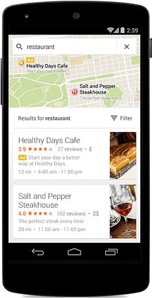 google adwords mobile