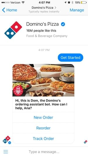 dominos-customer-care-bot