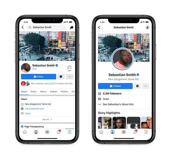facebook testa nuovo design senza conteggio like